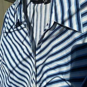 Figure Flattering Button Front Shirt